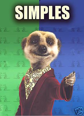 Image result for meerkat 'simples'